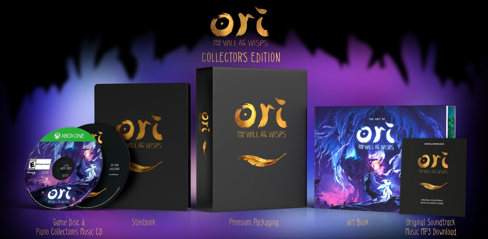 Ori and the Will of the Wisps Collector's Edition for Xbox One image
