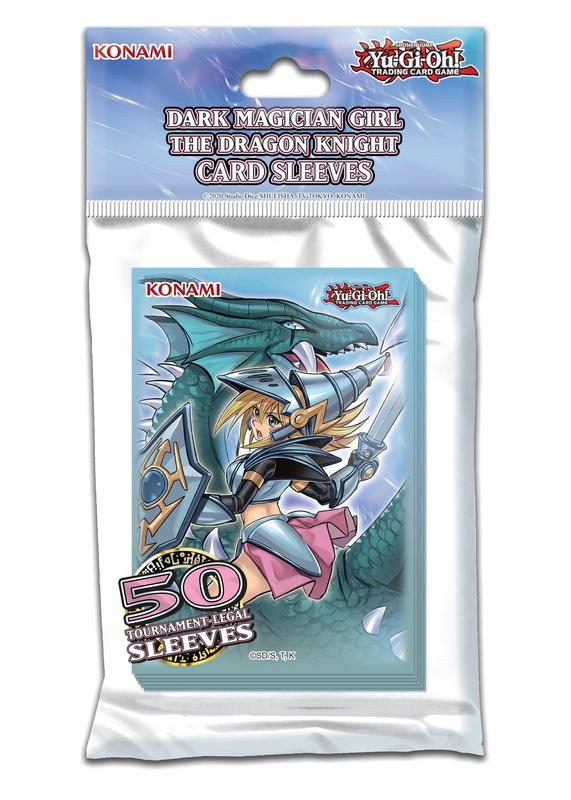Yu-Gi-Oh! Dark Magician Girl the Dragon Knight Sleeves