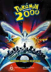 Pokemon: The Movie 2000 on DVD