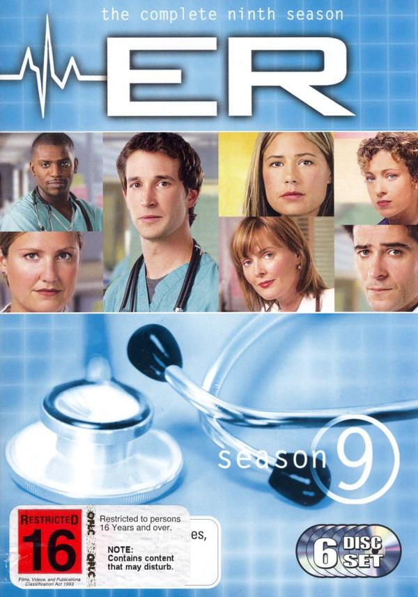 E.R. - The Complete 9th Season (6 Disc Set) on DVD image