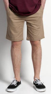 AS Colour Men's Plain Short - Khaki (Size 36)