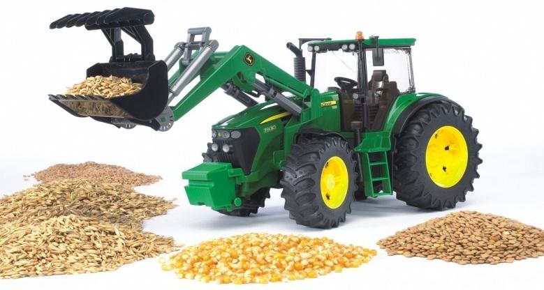 Bruder John Deere 7930 Tractor & Front Loader image