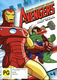 Avengers: Earth's Mightiest Heroes - The Complete 1st Season on DVD