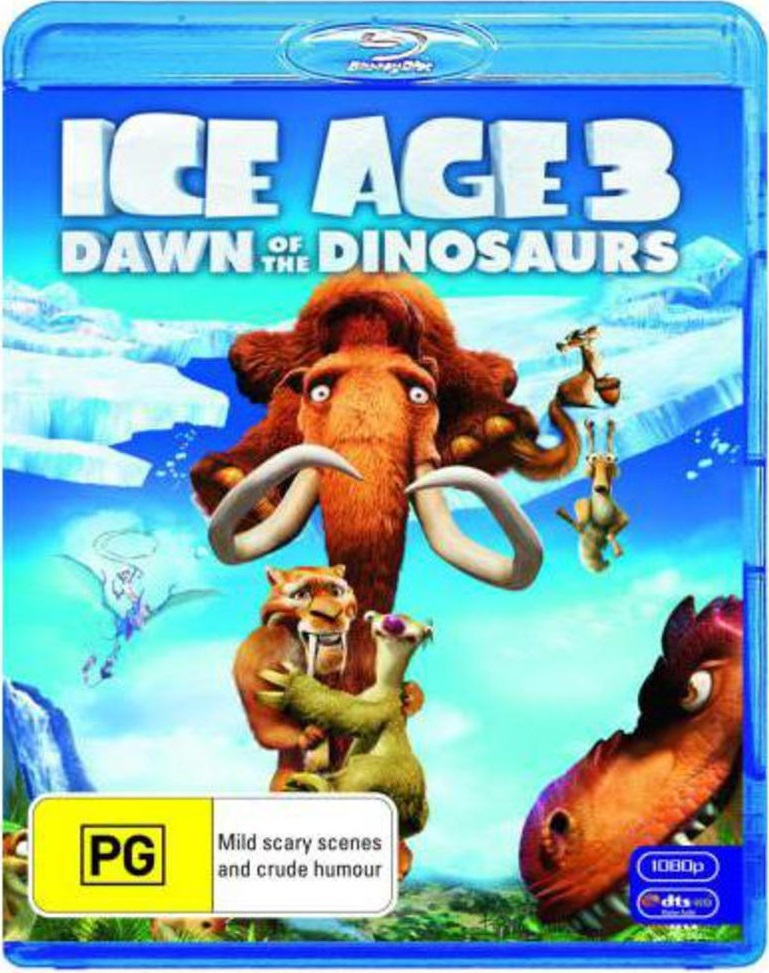 Ice Age 3: Dawn of the Dinosaurs on Blu-ray image