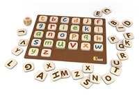 VIGA Wooden Toys - Learning Alphabet Game