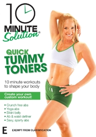 10 Minute Solution - Quick Tummy Toners on DVD