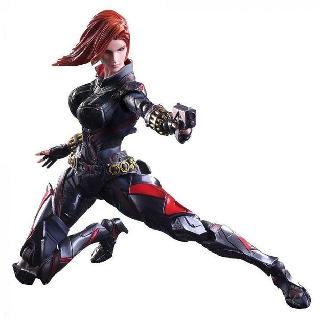Marvel Universe: Black Widow - Variant Play Arts Kai Figure