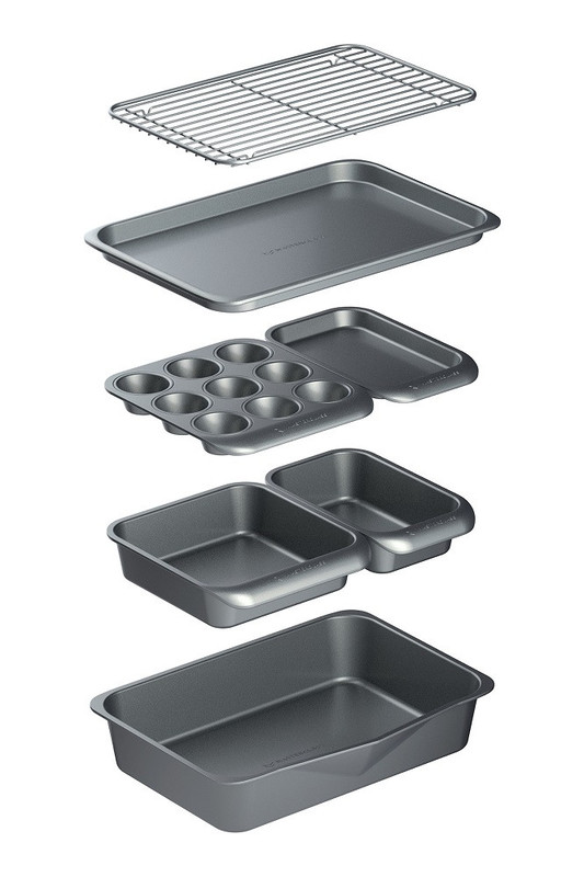 MasterClass: Smart Space Stacking Non-Stick Bakeware Set (7PC)
