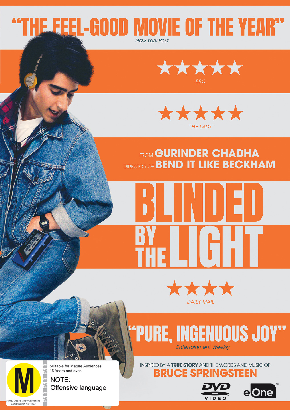 Blinded By The Light on DVD image