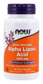 Now: Alpha Lipoic Acid, Extra Strength Veg Capsules - 600mg