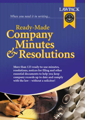 Ready Made Company Minutes and Resolutions image