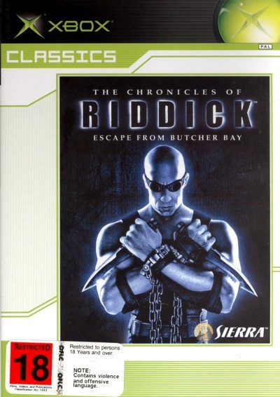 The Chronicles of Riddick: Escape From Butcher Bay for Xbox