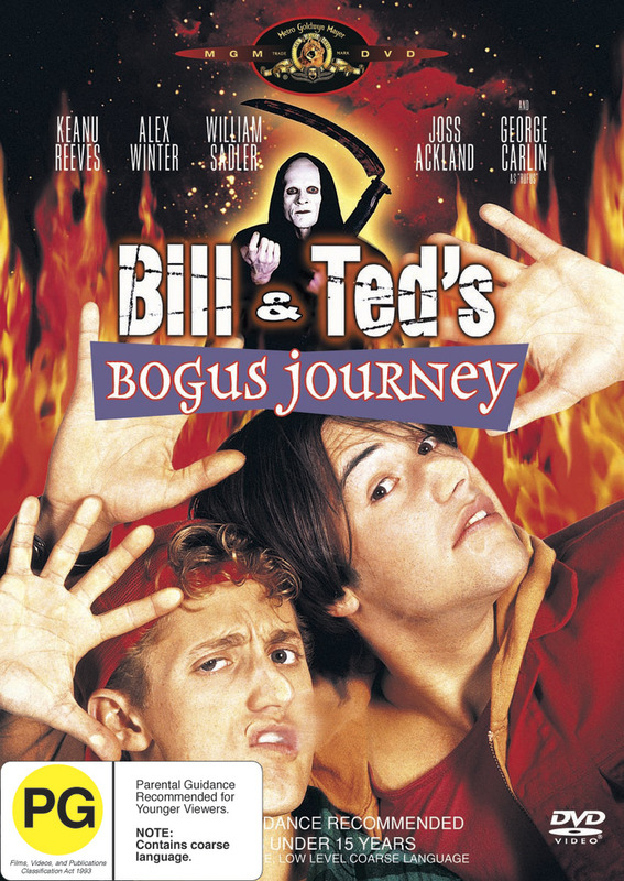 Bill & Ted's Bogus Journey on DVD