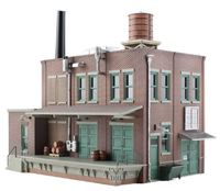 Woodland Scenics Clyde & Dales Barrel Factory HO Scale