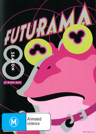 Futurama - Season 8 on DVD