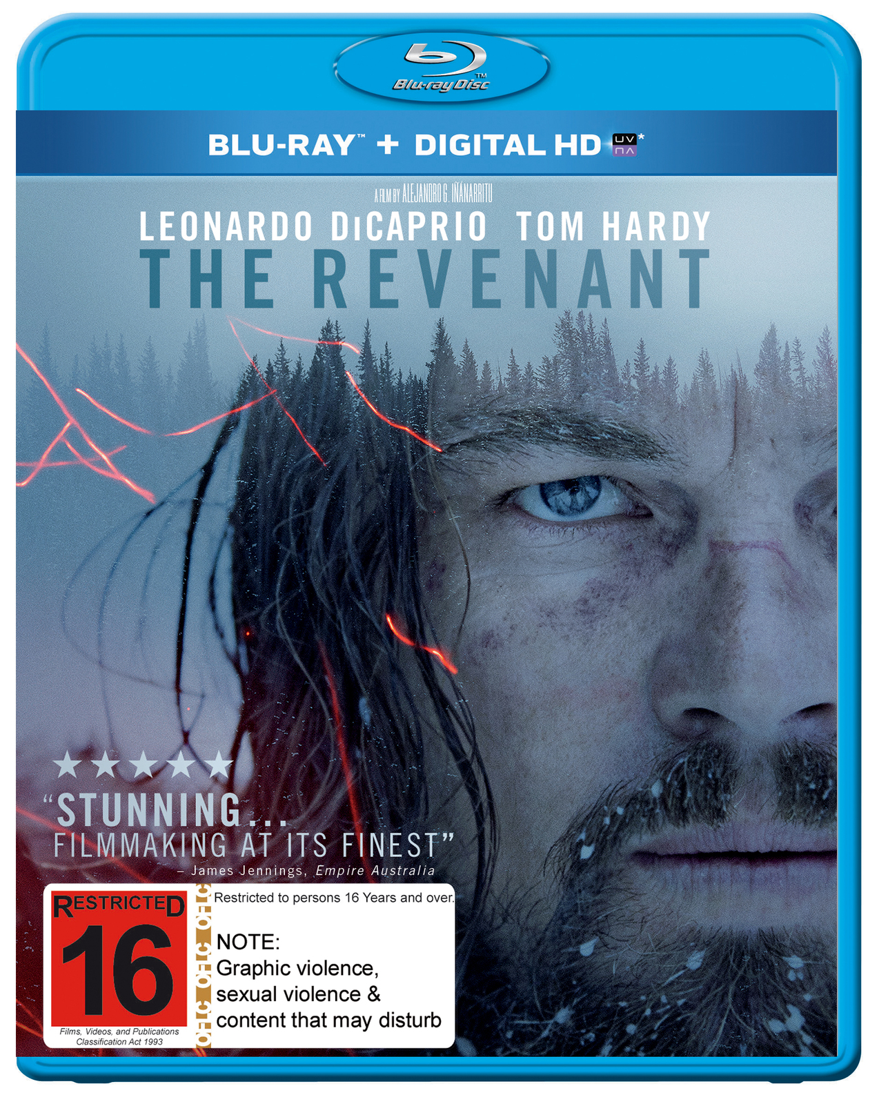 The Revenant on Blu-ray image