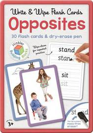 Building Blocks: Write and Wipe Opposites Flashcards