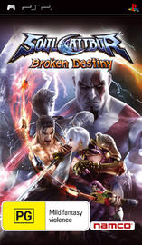 Soul Calibur: Broken Destiny (Essentials) for PSP