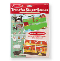Melissa & Doug: Around the Farm - Transfer Stickers
