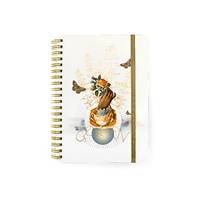 Papaya: Small Notebook - Golden