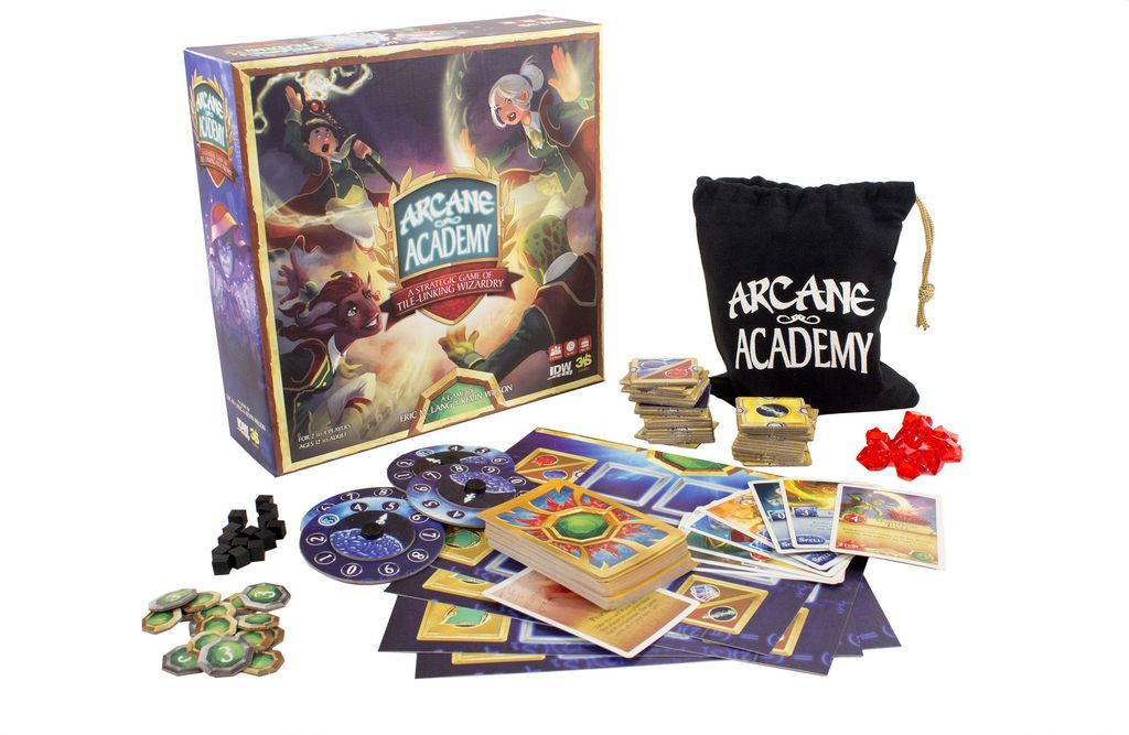 Arcane Academy - Board Game image