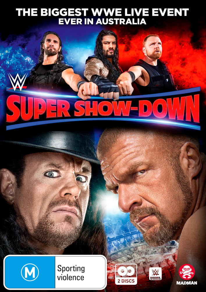 Wwe: Super Show-down 2018 on DVD image