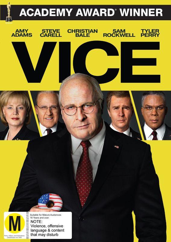 Vice on DVD