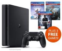 PS4 Slim 1TB Value bundle for PS4