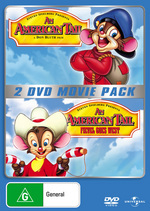 American Tail, An / Fievel Goes West - 2 DVD Movie Pack (2 Disc Set) on DVD