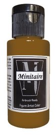Badger: Minitaire Acrylic Paint - Muddy Brown (30ml)