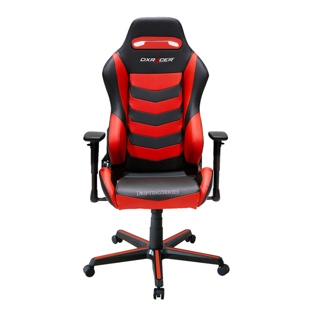 DXRacer Drifting Series DM166 Gaming Chair (Black and Red) for