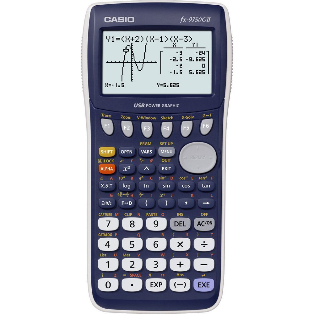 Casio FX-9750GII Graphics Calculator image