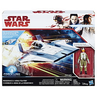 Star Wars: Pilot Tallie & Resistance A-Wing Fighter 2 Pack image