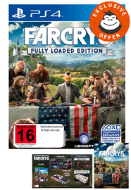 Far Cry 5 Fully Loaded Edition for PS4