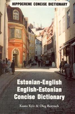 Estonian-English / English-Estonian Concise Dictionary by Harry Albright image