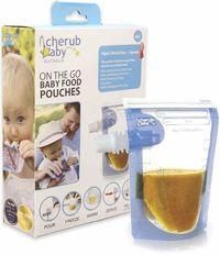 Cherub Baby: Food Storage Pouches (10 Pack)