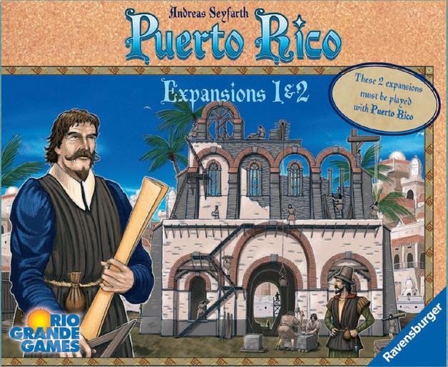 Puerto Rico: Expansion Set - 1 & 2
