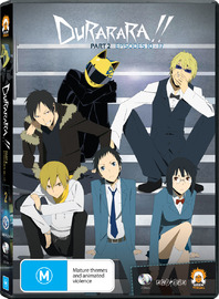Durarara!! - Part Two (2 Disc Set) on DVD image