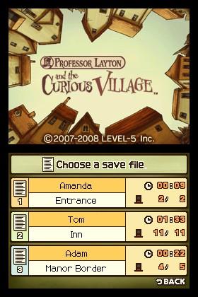 Professor Layton and the Curious Village for Nintendo DS image