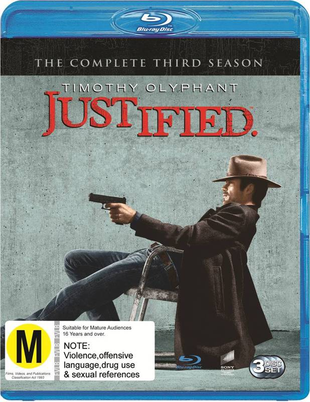 Justified - The Complete Third Season on Blu-ray