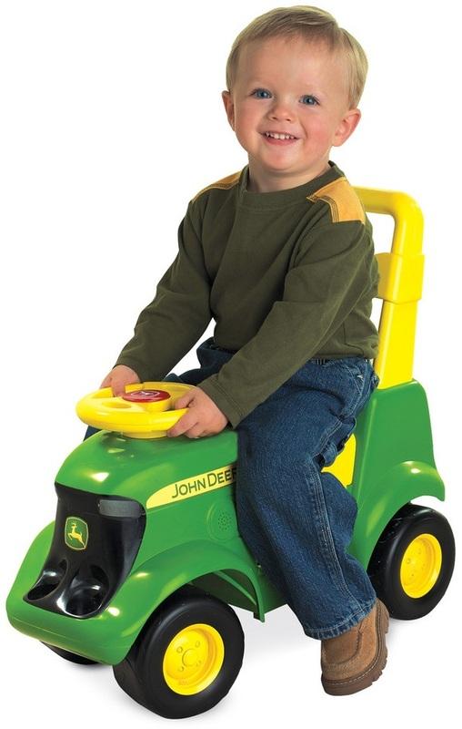 John Deere: Sit & Scoot - Activity Tractor with Sounds & Figures