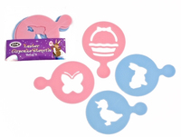 Easter Cupcake Stencils - Set of 4