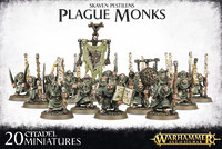Warhammer Skaven Pestilens Plague Monks