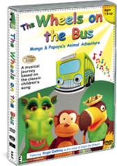 Wheels On The Bus, The - Vol. 1: Mango And Papaya's Animal Adventure on DVD