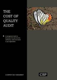 The Cost of Quality Audit by W Jeffery Howard