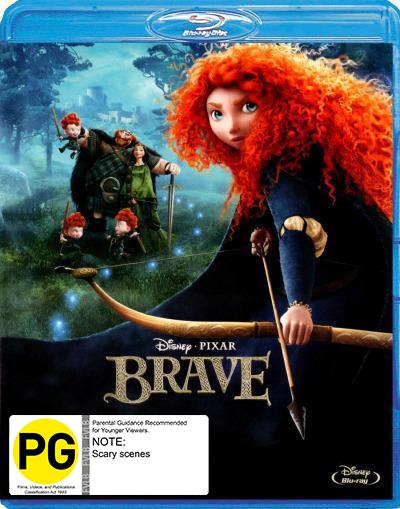 Brave on Blu-ray image