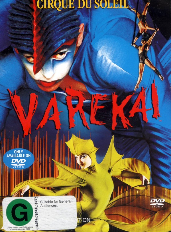 Cirque Du Soleil - Varekai on DVD image