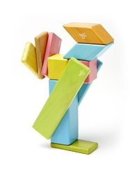 Tegu : Magnetic Wooden Blocks 14pc (Blossom)