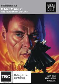 Darkman II: The Return Of Durant on DVD