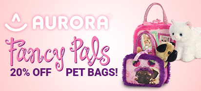 20% off Aurora Pet Bags!